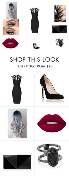 """Avenger Pietro #5"" by victoriahoegh ❤ liked on Polyvore featuring Posh Girl, Barneys New York, Lime Crime, UN United Nude and Kendra Scott"