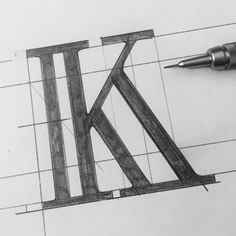 #K #Letters #pencil #PencilSketch #Sketch #Typografi #Lettering #Typo #Typography #GraphicDesign #HandLettering #Letters #Logo #LogoMaker #Sign #Signage #SignPainter #Calligraphy #AlwaysHandPaint #tyxca #typegang #GoodType #50words #TheDesignTip #thedailytype #typetopia #letteringdesign #typeyeah #BfType #HandMadeFont #typeeverything