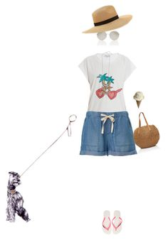 """""""Untitled #187"""" by simonethe ❤ liked on Polyvore featuring Paul & Joe and Havaianas"""