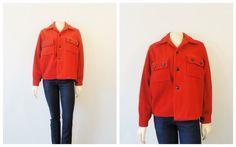 Vintage Coat 50s Montmac Heavy Wool Men's by 2sweet4wordsVintage