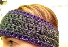 Crochet Headband Ear Warmer with Reflective by KaityBraedy on Etsy, $15.00