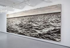 "This amazing picture by Cuban artist Yoan Capote looks like a black and white photo, but the ragged-looking surface is actually made out of half a million fish hooks. Capote and thirty assistants spent six months nailing them into place on plywood. Don't touch them! The barbs are exposed. That's because Capote wants observers to experience the ""sensorial power and aggressiveness of the objects in its sculpture condition."""