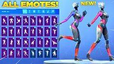 New Trog Skin Showcase With All Fortnite Dances New Emotes