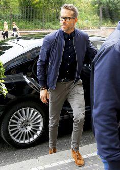 """The Golden Dapper — boyzoo: Ryan Reynolds of """"Deadpool 2″ in Rome"""