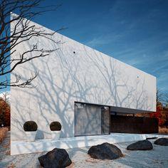 Black&White visualizations by Michal Nowak, architecture design by STUDIO.O. organic design