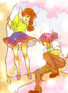 Dragon ball z - Trunks & Makoto - Wattpad Dragon Ball Gt, Dragon Ball Image, Dbz, Bts Anime, Manga Anime, Trunks And Mai, Dragon Super, Disney Marvel, A Comics