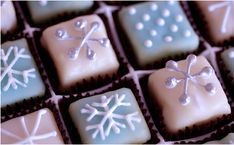 Winter Petits Fours