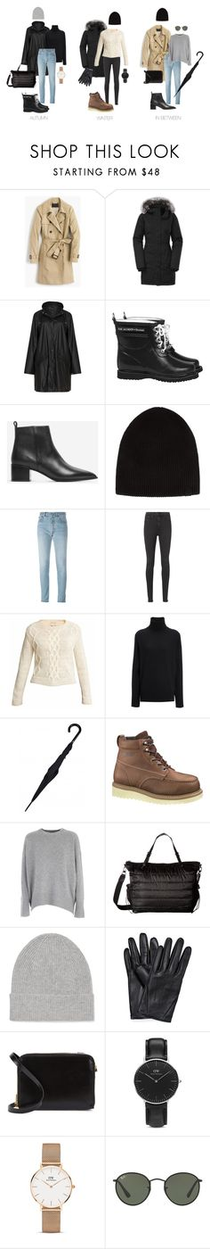 Practical yet stylish. by uselessdk on Polyvore featuring Mode, Theory, Joseph, J.Crew, The North Face, Zhenzi, RE/DONE, rag & bone/JEAN, Ilse Jacobsen Hornbaek and Wolverine