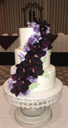 Calumet Bakery Wedding Cake #76
