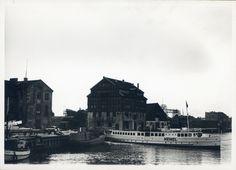 Memel, Dampferanlegestelle und alte Reismühle V