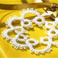 Frivolité à l'aiguille Technique de dentelle - Loisirs créatifs Needle Tatting, Tatting Patterns, Crochet Necklace, Symbols, Diy, Comme, Image, Ideas, Pom Poms