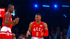 Kevin Durant and Russell Westbrook — 2016 All-Star Game