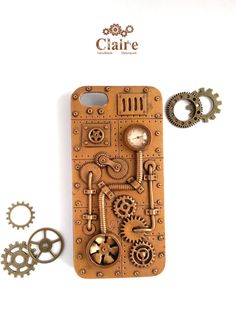 #Steampunk #iPhone 5 #Case. iPhone 5s Case. by JewelryClaire on Etsy