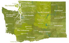 Regions of Washington State