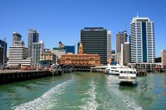 Auckland Harbour Cruise - New Zealand travel tips New Zealand North, Auckland New Zealand, New Zealand Travel, Beautiful Places To Travel, Cool Places To Visit, Places Around The World, Around The Worlds, The Beautiful Country, Travel Light
