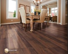 Color Bromont Walnut Laminate Flooring