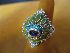 Barbara Bixby Sterling 18K Gold Rhodolite Garnet Ring Size 8 ...