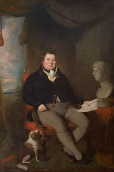 Portrait of The Honourable William Maule of Panmure, MP by Colvin Smith (Scottish 1795–1875)