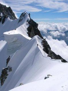 Western Italian Alps, Monte Bianco, Courmayeur, region of Valle D'aosta , Italy