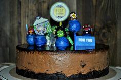 Angry birds cake Angry Birds Cake, Bird Cakes, Desserts, Food, Tailgate Desserts, Deserts, Essen, Postres, Meals