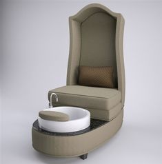 Audrey Pedicure Chair; great website with awesome spa benches
