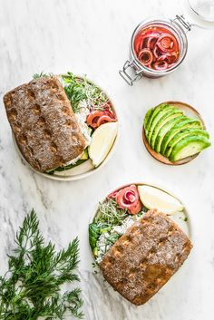 Gluten-free and Vegan Sandwiches with Carrot Lax