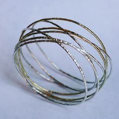Wikkelarmband... Zilver & goud