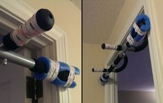 Doorway pull-up bar & How to protect a door frame from pull up bar damage   Body ...