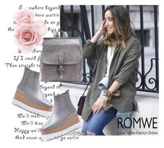 """""""ROMWE 3"""" by aida-1999 ❤ liked on Polyvore"""