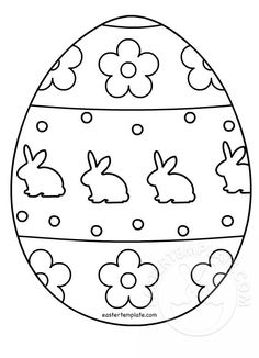 Egg Template Free Printable Coloring Pages Patterns Color 3 Pattern - Coloring Page Ideas Easter Egg Outline, Easter Egg Template, Easter Templates, Easter Egg Pattern, Easter Egg Coloring Pages, Coloring Pages For Kids, Easter Coloring Pages Printable, Easter Egg Printables, Coloring For Kids
