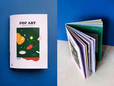 Editorial Design - Pop Art exhibition on Behance
