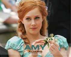 On the set during the making of 'Enchanted'. Pretty, pretty!