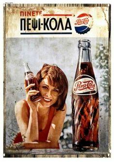 Quadro antigo de Logo marcas e temas. Em MDF, PVC, ALUMÍNIO. Consulte valores 12 98203-9808 Vintage Advertising Posters, Old Advertisements, Print Advertising, Vintage Ads, Vintage Images, Vintage Posters, Vintage Decor, Pepsi Ad, Coca Cola Ad