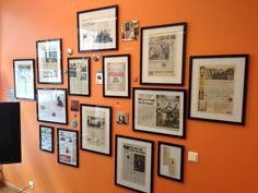 work hall of fame photo walls - Google Search