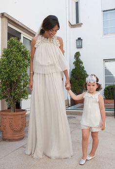 Una boda en Vigo y un vestido de Chloé I © David y Lorena, de Fluxus.