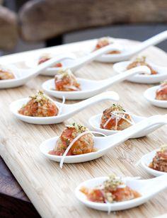 Sicilian Meatball bites
