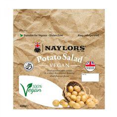 Vegan Potato Salad :: Naylors– Premium Salads Vegan Potato Salads, Vegan Mayonnaise, Diced Potatoes, Farm Shop, Plant Based Diet, Artisan, Stuffed Peppers, Food, Stuffed Pepper
