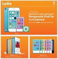 #Cepa #Lydia'da çocuklara özel 23 Nisan sürprizleri!  #cepaavm #avm #mall #shopping #alisveris #ankara #turkey #turkiye #apple