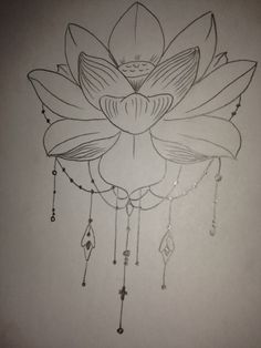 Lotus with tassles