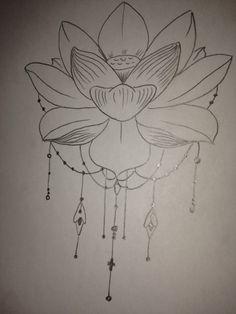 Lotus with tassles