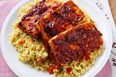 chipotle barbecued tofu from fatfree vegan kitchen