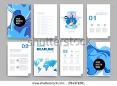 Templates. Design Set of Web, Mail, Brochures. Mobile, Technology, and Infographic Concept. Modern flat and line icons. Web app design template. Mobile interface. UI template. Web UI app design.