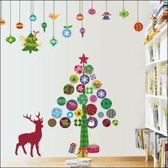 クリスマスツリー手作りおしゃれ壁飾り!DIYアイディア特集 | Lifeinfo!