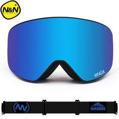 70c3872bae New NANDN brand ski goggles Ski Goggles Double Lens UV400 Anti-fog
