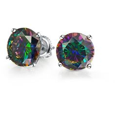 Bling Jewelry Kleidoscope Studs ($19) ❤ liked on Polyvore featuring jewelry, earrings, multicolor, stud-earrings, multicolor earrings, multi color stud earrings, earring jewelry, rainbow earrings and stud earrings
