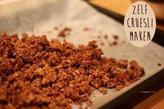 Recept: Zelf Supermakkelijk Cruesli Maken!