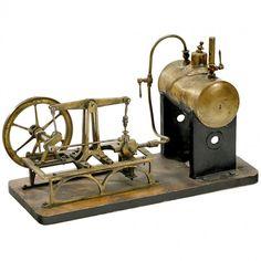 """Walking Beam Steam Engine """"Plank"""", c. 1900"""