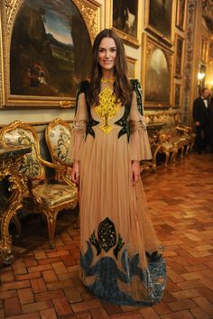 This is more dreamy and ethereal than anything else. I included this to show you what I might wear if I had a bazillion dollars and could walk around and whatever fabric of whatever caliber I wanted, any day of the year. It looks a bit romantic for my taste, but for a specialty event, this would be right on target.