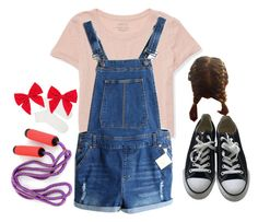 """7 Years Old~"" by donuts-n-sprinkles ❤ liked on Polyvore featuring Aéropostale, Topshop, Converse, Carole, vintage and sevenyears"