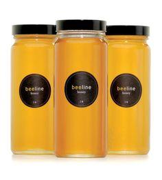 BeelineHoney Package Design